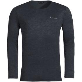 VAUDE Essential Camiseta manga larga Hombre, negro